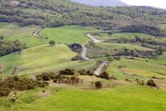 Val d'Orcia Landscape Royalty Free Stock Photos