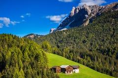 Val de Funes valley Stock Images