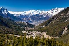 Val-DES-Pres, Briancon, França 2015 foto de stock royalty free
