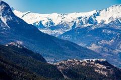 Val-DES-Pres, Briancon, França 2015 Imagem de Stock Royalty Free