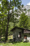 Val di梅洛,瓦尔马西诺,瓦尔泰利纳,桑治奥,意大利,欧洲 库存图片