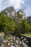 Val di梅洛,瓦尔马西诺,瓦尔泰利纳,桑治奥,意大利,欧洲 库存照片