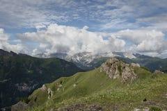 Val di法萨-特伦托自治省-意大利 库存照片