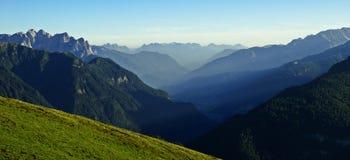 Val di Fassa Royaltyfria Foton