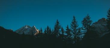 Val Di Fassa Dolomit krajobraz, Canazei Zdjęcia Royalty Free