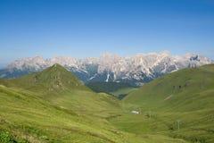 val Di fassa Dolomiti obrazy royalty free