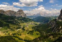 Val di Fassa Imagenes de archivo