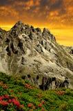 Val di Fassa, Italy Alps Stock Image