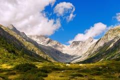Val di Fumo - Adamello Trento Italien Lizenzfreie Stockfotos