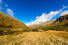 Val Di Fumo, Adamello Trento Włochy - Obrazy Stock
