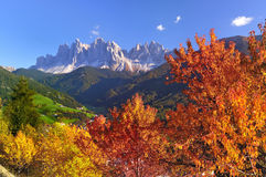 Val di Funes Stock Photos