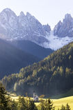Val di Funes, St. Magdalena and Dolomites Stock Images