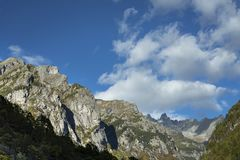 Val Di Mello góry Zdjęcia Royalty Free