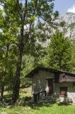 Val di Mello, Val Masino, la Valteline, Sondrio, Italie, l'Europe Image stock