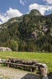 Val di Mello, Val Masino, Valtellina, Sondrio, Италия, Европа Стоковое фото RF