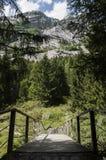 Val di Mello, Val Masino, Valtellina, Sondrio, Италия, Европа Стоковое Изображение RF