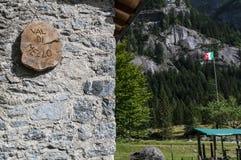 Val di Mello, Val Masino, Valtellina, Sondrio, Италия, Европа Стоковые Изображения RF