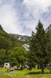 Val di Mello, Val Masino, Valtellina, Sondrio, Italia, Europa Immagini Stock Libere da Diritti