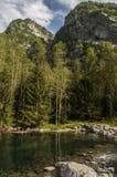 Val di Mello Val Masino, Valtellina, Sondrio, Italien, Europa Royaltyfri Bild