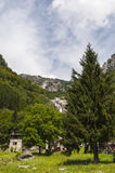 Val di Mello Val Masino, Valtellina, Sondrio, Italien, Europa Royaltyfria Bilder
