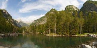 Val Di Mello, Val Masino, Valtellina, Sondrio, Włochy, Europa Fotografia Stock
