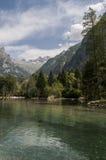 Val Di Mello, Val Masino, Valtellina, Sondrio, Włochy, Europa Obrazy Royalty Free