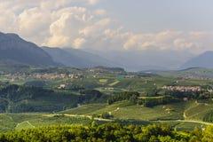Val di Non (Trento) Stock Image