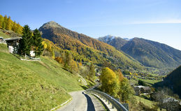 Val di Rabbi in Trentino Alto Adige, Italy. Stock Photography