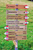 Val di racines, South Tyrol, Italy Stock Image