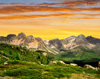 Val di San Pellegrino Stock Images
