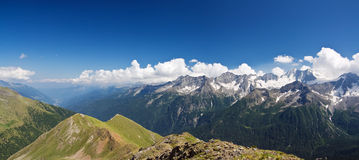 Val di Sole, panoramic view Royalty Free Stock Photo