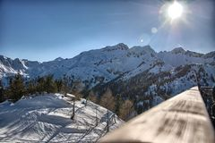 Val di sole Stock Photography