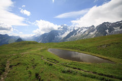 Val Ferret Stock Image