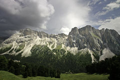 Val Gardena Dolomites Stock Photos