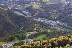 Val Gardena, Dolomities, Italy Royalty Free Stock Photography
