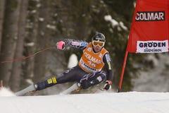 Val Gardena Downhill Lizenzfreies Stockbild