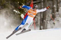 Val Gardena Downhill Lizenzfreies Stockfoto
