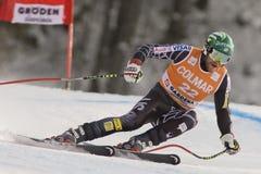 Val Gardena Downhill Lizenzfreie Stockfotos