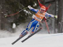 Val Gardena Downhill Stockfotografie