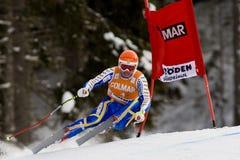 Val Gardena Downhill Stockfoto