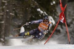 Val Gardena Downhill Royalty Free Stock Photo