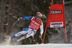 Val Gardena Downhill Royalty Free Stock Image