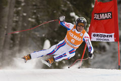 Val Gardena Downhill Stock Photos