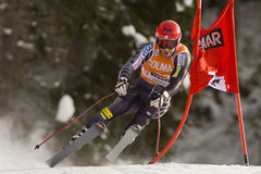 Val Gardena Downhill Stock Photo