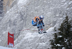 Val Gardena downhill training 2 Stock Image