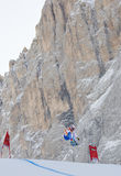 Val Gardena downhill training 2 Stock Photography