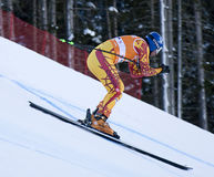 Val Gardena downhill training 2 Stock Images