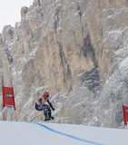 Val Gardena downhill training 2 Royalty Free Stock Photo
