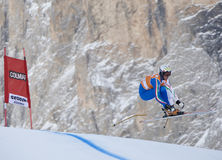 Val Gardena downhill training 2 Royalty Free Stock Images