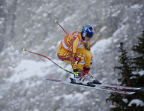 Val Gardena 2nd downhill training Stock Images